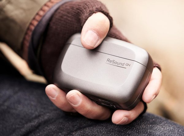 man holding rechargeable